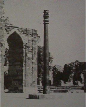 The Ashoka pillar - Delhi.