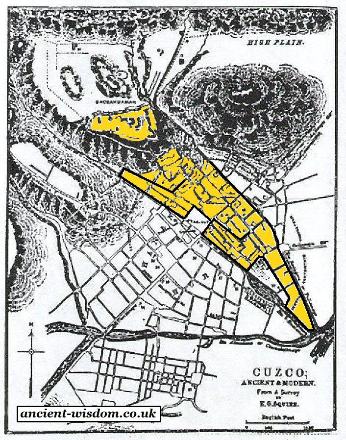 Cuzco peru click here for map of cuzco overlaid with jaguar publicscrutiny Image collections