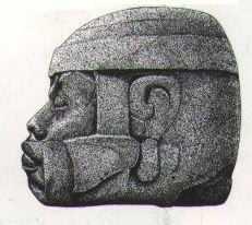 Collossal Stone Head.