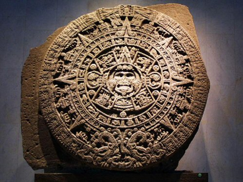 The Great Calendar Stone, Mexico City Museum.