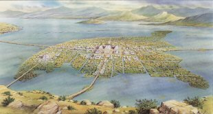 Tenochtitlan, Mexico.