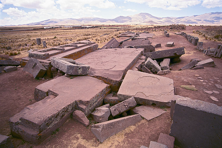Cosmogenic dating of puma punku ruins