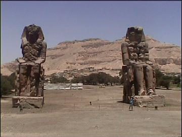 Collossi of Memnon.
