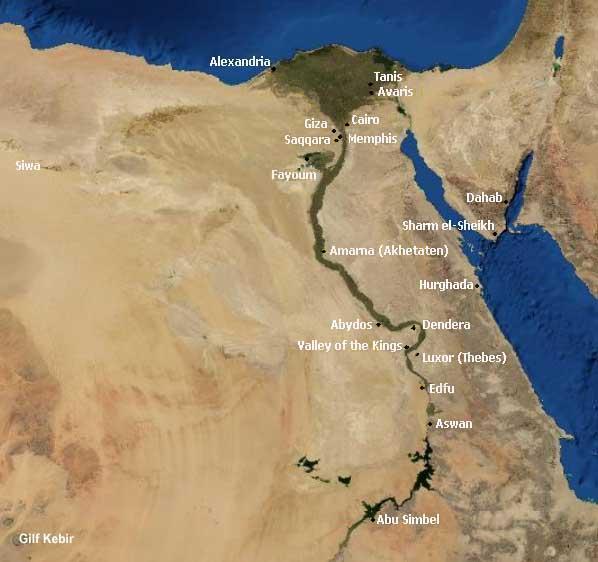 Karnak Thebes Egypt - Map of egypt karnak