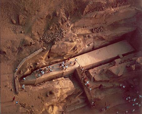 The Mystery of the Unfinished Obelisk of Egypt Unfinished%20obelisk