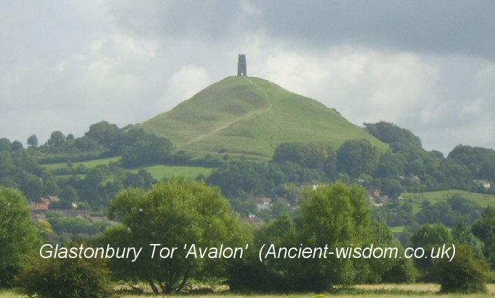 glastonbury tor (Avalon), ancient-wisdom.com