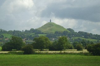 Glastonbury Tor, Avalon. (ancient-wisdom.com)