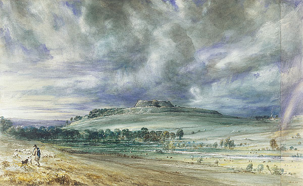 Old Sarum by Constable