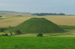 Silbury Hill, England. (ancient-wisdom.co.uk)