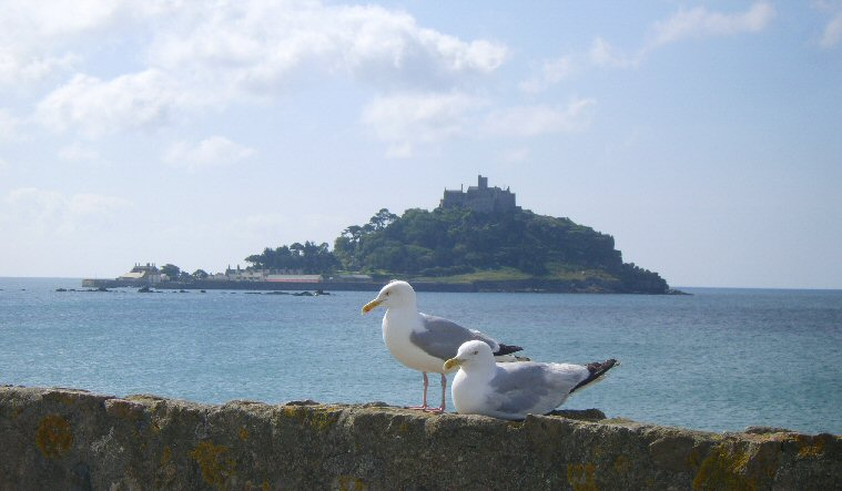 St. Michael's Mount, Cornwall, England.