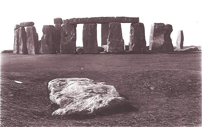 The Stonehenge Slaughter Stone.