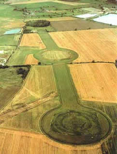 Thornborough Henges.