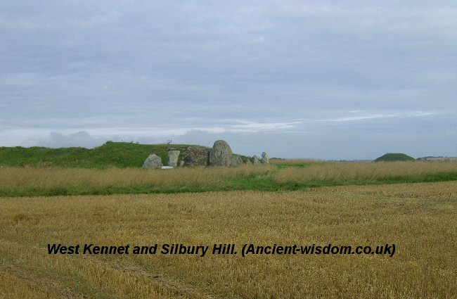 West Kennet and Silbury Hill.