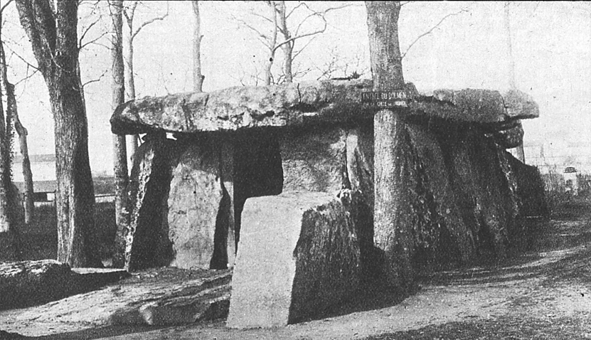 Grand dolmen of Samur.