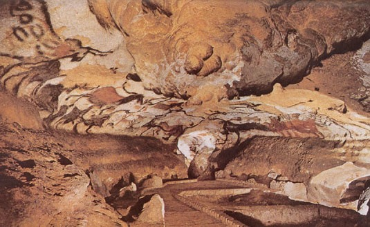 "paleolithic hall of bulls lascaux This is also named ""the hall of bulls""  visit the paleolithic cave at lascaux history of lascaux debate over moldy cave art is a tale of human misstep ."