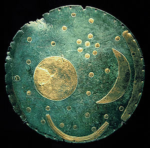 The Nebra Sky Disc, Germany.