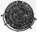 The Phaistos disc.