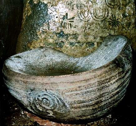 Anta Grande de Zambujeiro: Knowthbasin
