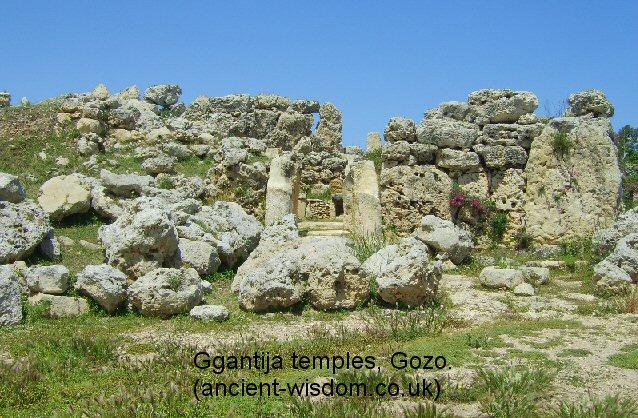 Lime Plaster Malta : ggantija temples, gozo