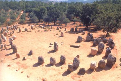 The Evora Megaliths ~ Portugals Hidden Henges? AlmendrasCircle