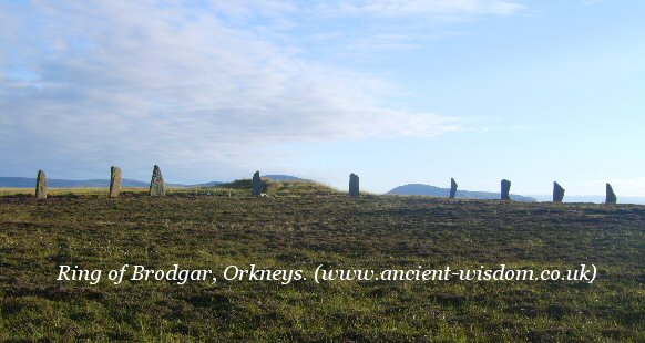 Ring of Brodgar, Orkneys.