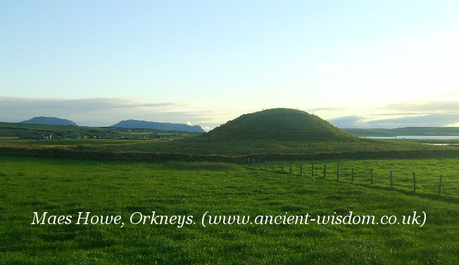 meas-howe passage mound, orkneys.