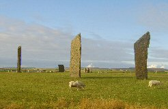 Stennes Stones, Orkneys, Scotland.
