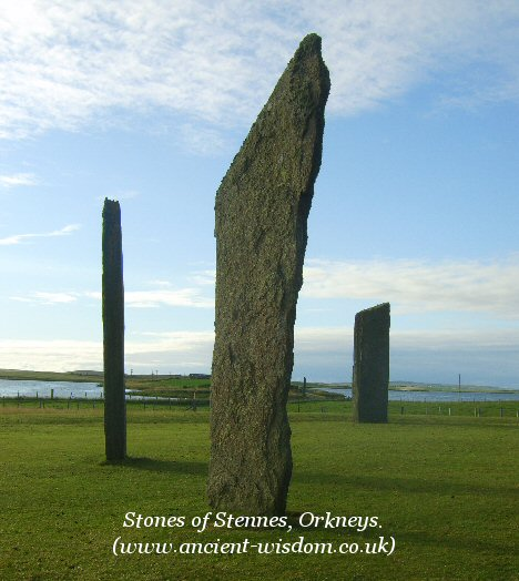 stones of stennes, orkneys.