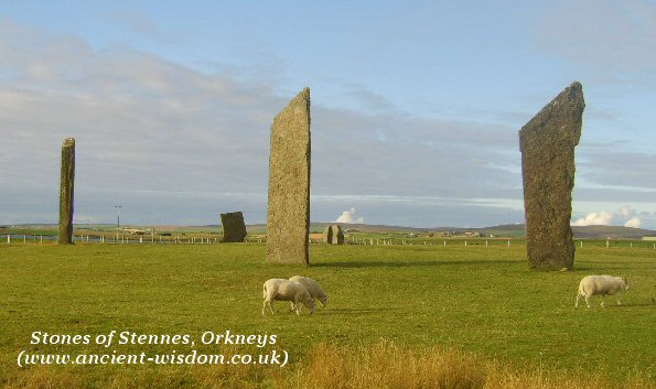 stennes stones, orkneys