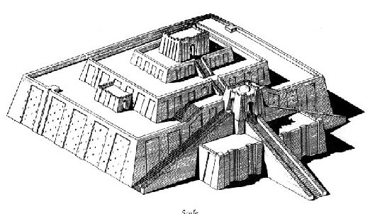 Ziggurat of Ur.