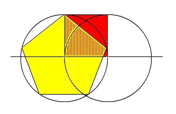 Схема Пентагона (размеры в